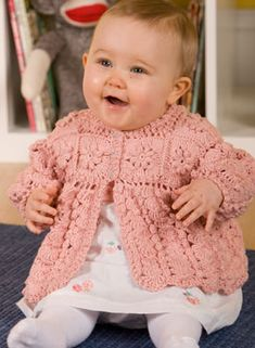 Girls Crochet Sweater  by Janet Middlebrook: $1.99  So Cute!!