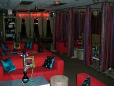 Aladdin hookah lounge pinterest for Jlv creative interior design