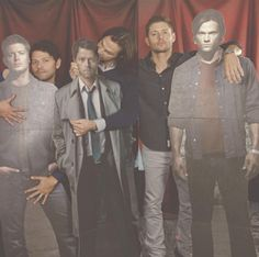 Misha is the biggest Destiel shipper of all time, like just LOOK at him.
