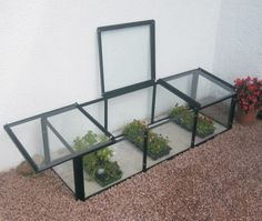 Elite Cold Frame 4 5 X 2 3 With Toughened Gl Greenhouse Supplieslean To