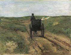 Max Liebermann - Cart in the dunes