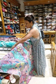 A Visit To The Worlds Finest Fabric Shop