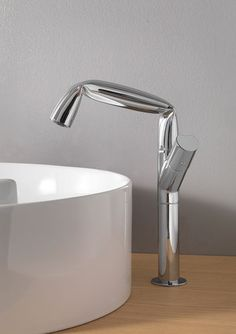 Washbasin mixer tap / brass / chrome / for bathrooms FOLD: FL3055 by Lorenzo Damiani FLAMINIA