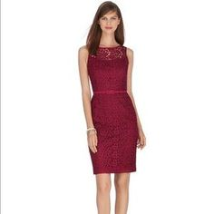 whbm red lace dress - Google Search