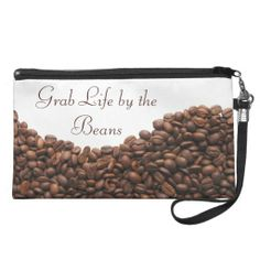 Grab Life By The Beans Coffee Beans Bag