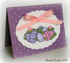 Easter card ~ Eureka Stamps Digi