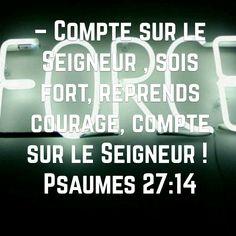 PSAUMES 27v14