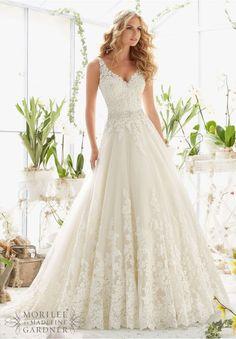 gorgeous wedding dresses lace open back 2016-2017