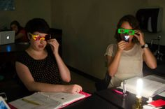 Science eye ware fashion- For the sake of color! #science #PhysEd