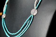 Bali, Turquoise Necklace, Beaded Necklace, Stuff To Buy, Jewelry, Fashion, Beaded Collar, Moda, Jewlery
