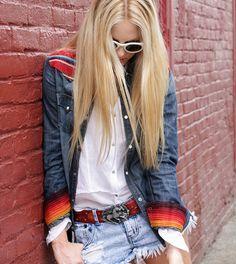 long blondie hair