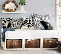 twin bed into daybed - Google Search