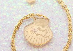 A necklace that speaks the truth.