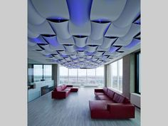 Wovin Wall on ceiling Interior Inspiration, Chandelier, Study, Concept, Ceiling Lights, Lighting, Wall, Sick, Interiors