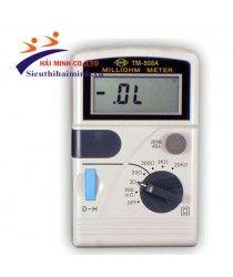 Tenmars TM-508A có khoảng đo từ 1mΩ - 20kΩ đo nhanh chóng và kết quả trả về chính xác trên màn hình LCD dễ đọc, dễ nhìn. Ngoài ra máy còn có chức năng giữ giá trị đo và hiển thị báo pin yếu giúp bạn lường trước được pin không bị gián đoạn trong quá trình đo.