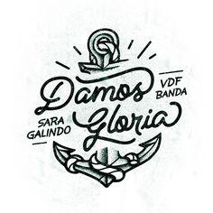 Damos Gloria / VDF14 by HeyTreka, via Behance