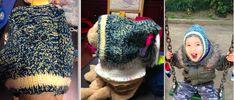 Детская шлем-шапка с совой.
