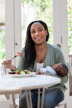 La dieta post allattamento per ritrovare la linea