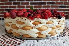 No Bake Cake, Tiramisu, Cake Recipes, Cheesecake, Food And Drink, Pudding, Sweets, Cooking, Desserts