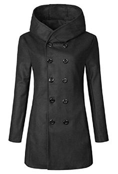 http://picxania.com/wp-content/uploads/2017/09/abetteric-mens-double-breasted-notch-collar-hooded-waterproof-trenchcoat-black-xl.jpg - http://picxania.com/abetteric-mens-double-breasted-notch-collar-hooded-waterproof-trenchcoat-black-xl/ - Abetteric Mens Double-breasted Notch Collar Hooded Waterproof Trenchcoat Black XL - Price: Package:Other accessories not include Material:Size details:China M/US XS:Length:28.35″(72cm),Bust:39.37″(100cm);China L/US S:Length