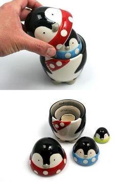 Penguin Measuring Cups: