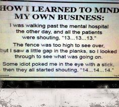 Mind your own business - funny pictures #funnypictures