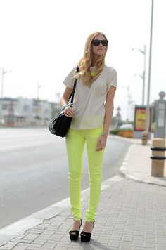 love the colored skinnies!