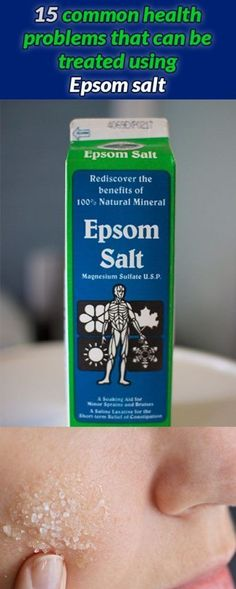 Question: When is salt not salt? Answer: When its Epsom Salt! you see Epsom Salt is not really salt at all its chemical name is magnesium sulfate a mixture of the mineral magnesium and. Health And Beauty, Health And Wellness, Health Fitness, Health Care, Oral Health, Natural Cures, Natural Healing, Natural Facial, Natural Remedies