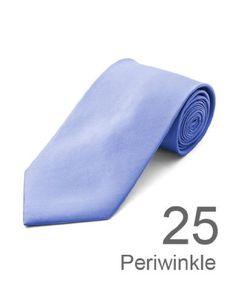 New Polyester Mens Neckties Solid Neck Tie
