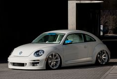 The Beetle has evolved to the New Beetle and it will be a good car to customize. Newing, the Japanese Tuning company that makes bodykits for most of the pl