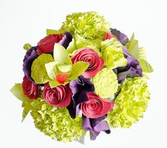 Custom Wedding Flower Package DEPOSIT Anemones by AnthologyOnMain