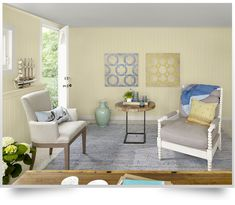 Benjamin Moore's 2013 Color of the Year  - Lemon Sorbet