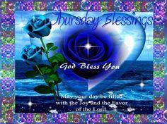 thursday blessings - Google Search