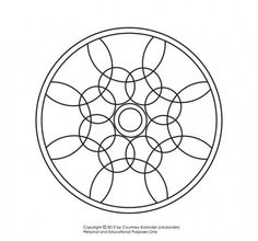 Website with free mandala designs to color.