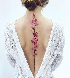 spine tattoo diseno