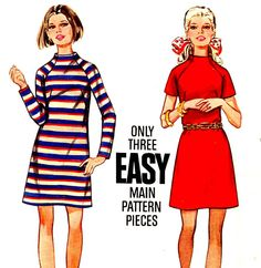 One, two, three SEW EASY.