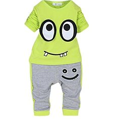 Fanala Child Unisex Set Long sleeve tops T-shirt Trousers for Autumn -- You can get additional details at