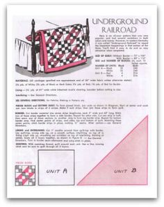 History of underground railroad quilts, african quilts