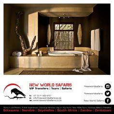 New World Safaris ------------------ VIP Transfers   Tours   Safaris ------ Follow us on Facebook facebook.com/newworldsafaris