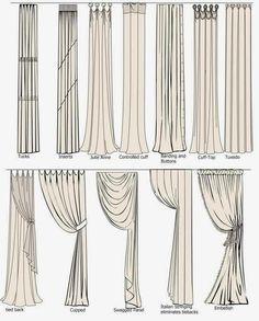 كيفية تثبيت الستائر - How to fastened style of curtain