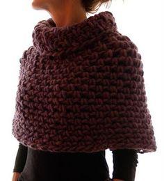 Magnum Capelet #4 (crochet) ~ Knit 1 LA