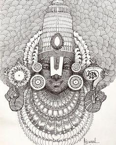 Mandala Art Lesson, Mandala Artwork, Mandala Drawing, Zentangle Drawings, Doodle Art Designs, Stencil Designs, Madhubani Art, Indian Folk Art, Indian Art Paintings