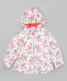 Coral Floral Hooded Jacket - Infant, Toddler & Girls