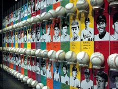 At the Hall Of Fame In Cooperstown there is a display with a balls (now autographed) pitched by all of the pitchers who threw no-hitters in the history of baseball with information about the pitchers. This is about half of that display..... NO INVIT Collect Sports Cards as an Investmet...For Fun...Hobby done with the Kids...Hobby for Yourself!