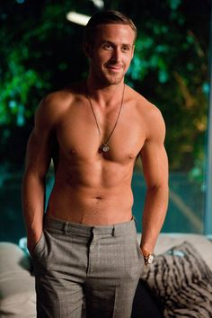Ryan Gosling - Seriously? It's like he's photoshopped! Unf. So much goodness.