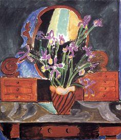 Vase with Iris, Henri Matisse, 1912