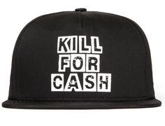 Kill For Cash Snapback Cap by SSUR