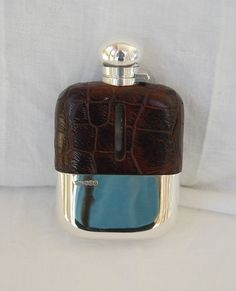 Antique Silver Hip Flasks and silver spirit flasks from Nigel Williams, Antique Silver, Petworth West Sussex
