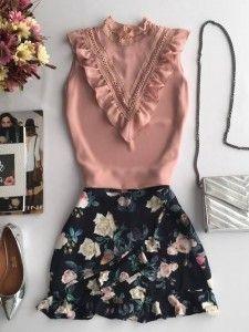 Compre Blusa Feminina, Varios Modelos da Moda Feminina na loja Estação Store com o menor preço e ande sempre na moda. Pretty Outfits, Cool Outfits, Casual Outfits, Fashion Outfits, Womens Fashion, Royal Clothing, Elegant Outfit, Short Outfits, Fashion 2020