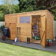 Image result for garden shed osb